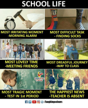 6 Most Interesting Moments For Every Student